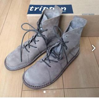トリッペン(trippen)の新品    NOMADトリッペン  サイズ38(ローファー/革靴)