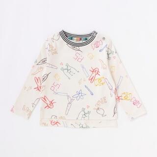 ポールスミス(Paul Smith)のポールスミス新品新作タグ付きベビー 落書プリントTシャツ80(Tシャツ)