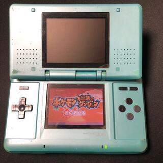 ニンテンドーDS - 【ジャンク】任天堂 DS ターコイズブルー
