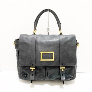 マークバイマークジェイコブス(MARC BY MARC JACOBS)のマークバイマークジェイコブス美品  - 黒(ハンドバッグ)