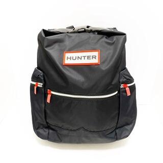ハンター(HUNTER)のハンター リュックサック美品  - 黒(リュック/バックパック)