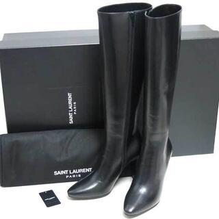 サンローラン(Saint Laurent)の新品 SAINT LAURENT ロング ブーツ 35(ブーツ)