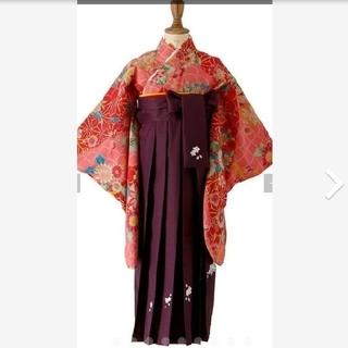キャサリンコテージ(Catherine Cottage)の小学生卒業式 袴セット☆160㎝☆刺繍半襦袢付き♪ (和服/着物)