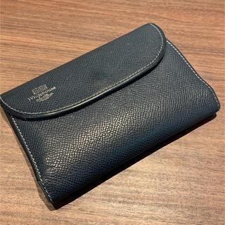 WHITEHOUSE COX - ホワイトハウスコックス 三つ折り財布 ロンドンカーフ 革財布