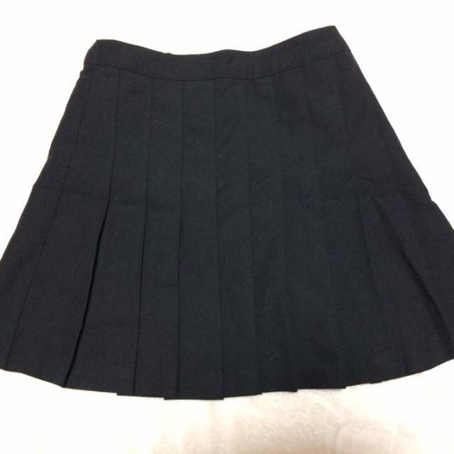 WEGO(ウィゴー)のプリーツスカート 黒 レディースのスカート(ミニスカート)の