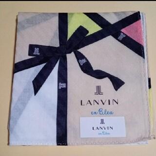 LANVIN - LANVIN ランバン 大判ハンカチ