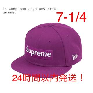 シュプリーム(Supreme)のNo Comp Box Logo New Era® COLOR/STYLE(キャップ)