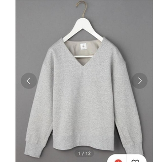 BEAUTY&YOUTH UNITED ARROWS - <6(ROKU)>V NECK SWEAT PULLOVER/スウェット