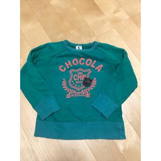 ショコラ(Chocola)のchocola☆ラグラントレーナー110cm(Tシャツ/カットソー)