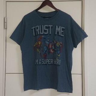 マーベル(MARVEL)のアメコミキャラクター古着 Tシャツ MARVEL マーベル(Tシャツ/カットソー(半袖/袖なし))