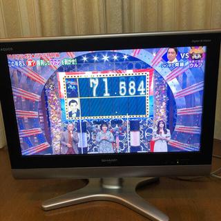 アクオス(AQUOS)の値下げ シャープ AQUOS液晶テレビ LCー26E5 26インチ 匿名無料発送(テレビ)