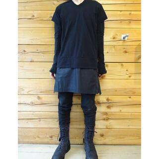 ユリウス(JULIUS)のJULIUS レイヤードコンビネーションカットソー(Tシャツ/カットソー(半袖/袖なし))