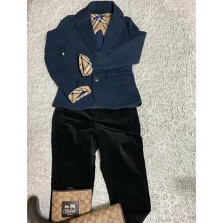 バーバリーブルーレーベル(BURBERRY BLUE LABEL)のバーバリー ジャケット 紺色(テーラードジャケット)