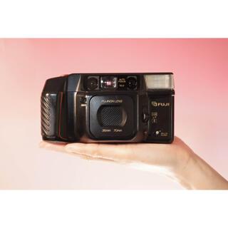 フジフイルム(富士フイルム)の【完動品】コンパクトフィルムカメラ Fuji Cardia 200(フィルムカメラ)