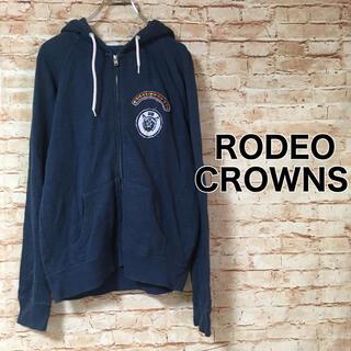 ロデオクラウンズワイドボウル(RODEO CROWNS WIDE BOWL)のロデオクラウンズワイドボウル RODEO CROWNS フルジップパーカー ロゴ(パーカー)