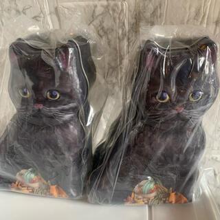KALDI - カルディ 黒ネコ 缶 お菓子入 ハロウィン ねこ缶 KALDI 2缶セット