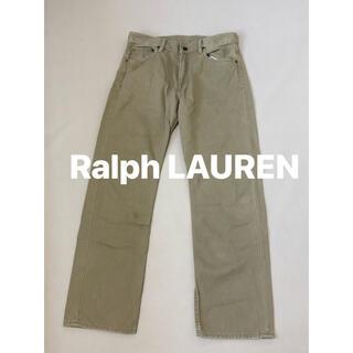 ポロラルフローレン(POLO RALPH LAUREN)のPOLO ラルフローレン CLASSIC 867 デニム パンツ  牛革(デニム/ジーンズ)