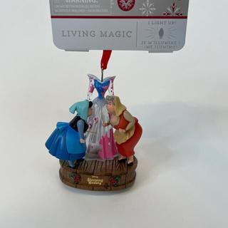 ディズニー(Disney)のオーロラ姫ドレスオーナメント(キャラクターグッズ)