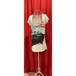 ディーゼル(DIESEL)のディーゼル Tシャツワンピ 半袖(Tシャツ(半袖/袖なし))