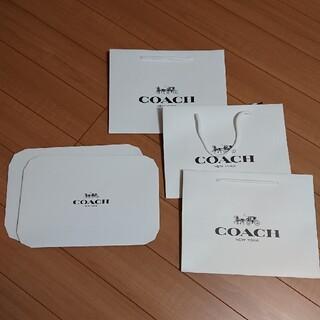 COACH - ★コーチ★COACH★ショップ袋★箱★セット★
