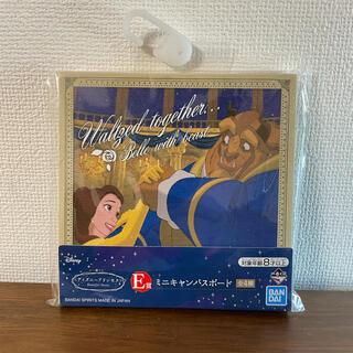 ビジョトヤジュウ(美女と野獣)の一番くじ ディズニープリンセス ミニキャンバスボード 美女と野獣(キャラクターグッズ)
