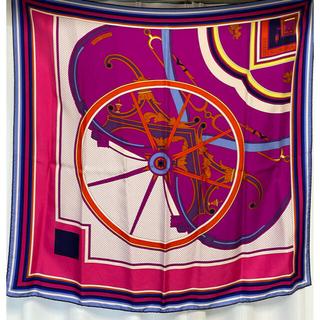 エルメス(Hermes)のHERMES エルメス スカーフ ジョージワシントンの馬車 シルク(スカーフ)