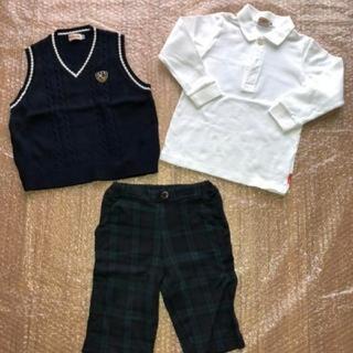 ミキハウス(mikihouse)のミキハウス ポロシャツ ズボン ベスト(ドレス/フォーマル)