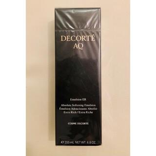 COSME DECORTE - コスメデコルテ AQ エマルジョン ER  エクストラリッチ   乳液