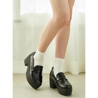 グレイル(GRL)の新品未使用 厚底ローファー(ローファー/革靴)