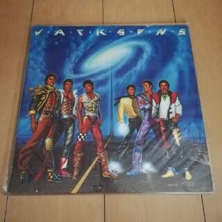 ソニー(SONY)の美品!Jacksonsジャクソンズ  VICTORYビクトリー LPレコード(ポップス/ロック(洋楽))