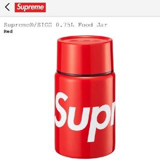 シュプリーム(Supreme)のSupreme SIGG 0.75LOW Food Jar Red(弁当用品)