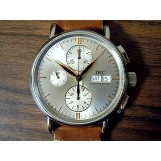 インターナショナルウォッチカンパニー(IWC)のIWC ポートフィノ クロノグラフ 正規ギャランティー付 IW378302(腕時計(アナログ))