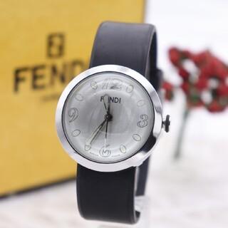 フェンディ(FENDI)の正規品【新品電池】FENDI 8010G/ブースラ 人気モデル ズッカ柄 動作良(腕時計(アナログ))