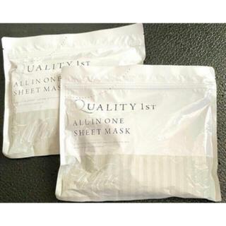 QUALITY FIRST - クオリティファースト オールインワンシートマスク30枚 2袋