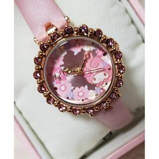 サンリオ(サンリオ)のサンリオ マイメロディ ♡ 腕時計 フラワーver.(腕時計)
