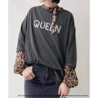 アパルトモンドゥーズィエムクラス(L'Appartement DEUXIEME CLASSE)のアパルトモン GOOD ROCK SPEED Rock Tsh (QUEEN) (Tシャツ(長袖/七分))