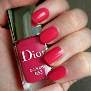 クリスチャンディオール(Christian Dior)のDior ヴェルニ #653 ダーリン マニキュア ネイルカラー(マニキュア)