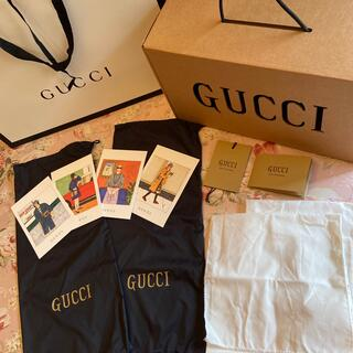 グッチ(Gucci)のGUUCIスニーカー🧸収納袋🧸靴袋・紙袋・ラッピング🧸絵葉書🧸(ラッピング/包装)
