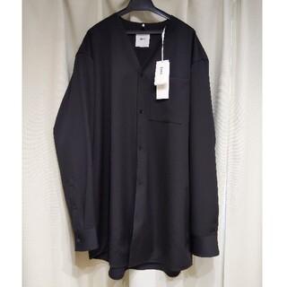ジルサンダー(Jil Sander)の新品タグ付 OAMC 20AW SPIRIT SHIRT JKT Mサイズ (ノーカラージャケット)