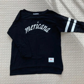 アメリカーナ(AMERICANA)のアメリカーナ フットボール7部袖Tシャツ(Tシャツ(長袖/七分))