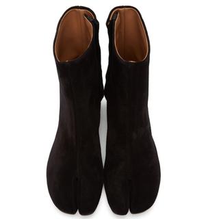 エムエムシックス(MM6)の超美品MAISON MARGIELA マルジェラスエード足袋ブーツ35(ブーツ)