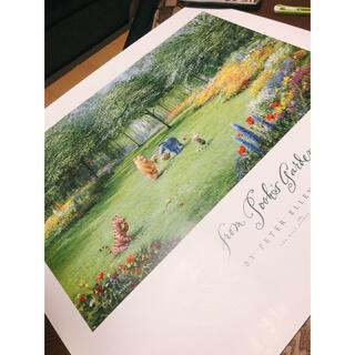 ディズニー(Disney)の【フロリダDisney world】プーさんポスター(絵画/タペストリー)