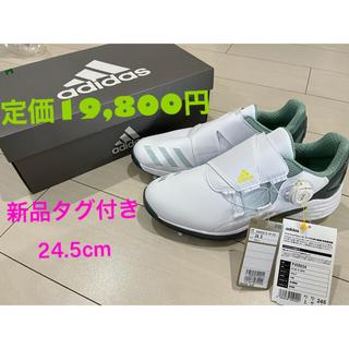 adidas - 500円引き中✨新品タグ付き! adidasゴルフシューズ