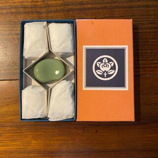 タチキチ(たち吉)の未使用❣️たち吉 箸置き そら豆(カトラリー/箸)