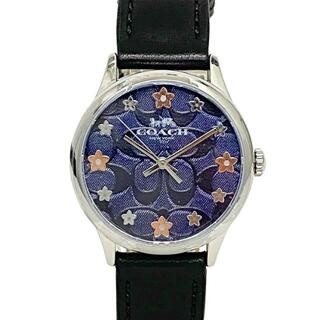 COACH - コーチ 腕時計 シルバー ブラック ネイビー 未使用