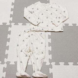 ベビーギャップ(babyGAP)のGAP くま 肌着 ズボン セットアップ(肌着/下着)
