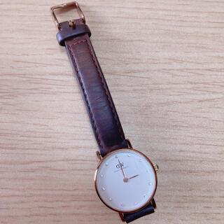 ダニエルウェリントン(Daniel Wellington)のダニエルウェリントン 腕時計 ジャンク品(腕時計)