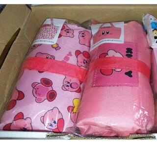 ニンテンドウ(任天堂)の2点セット まとめ売り レジカゴバッグ カービィ 可愛い ピンク エコバッグ(エコバッグ)