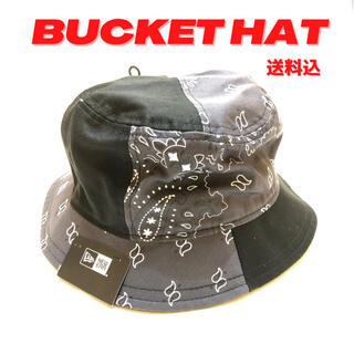ニューエラー(NEW ERA)のNew Era Black Paisley Bucket Hat (ハット)
