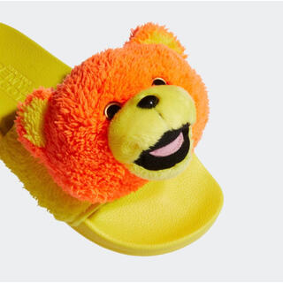 アディダス(adidas)のジェレミー スコット アディレッタ テディサンダル 27.5cm(サンダル)
